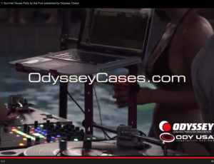 Tirave Pool Party Sponsored by Odyssey Cases