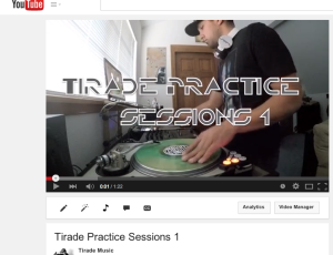 Tirade Practice Sessions 1